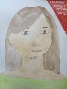 Le dessin de Louanne, 8 ans.