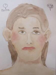 Le portrait de Cirine, 12 ans.