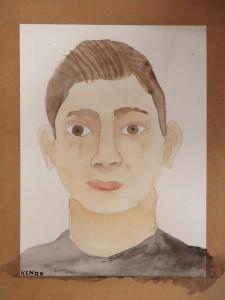 Le portrait de Kenan, 16 ans.