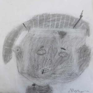 Les enfants dessinent leur portrait