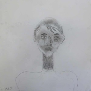 Autoportrait à l'école