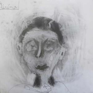 Autoportrait au crayon à papier