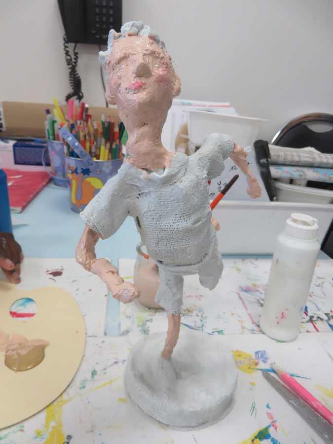 Sculpter avec des bandes pl tr es atelier d 39 art - Bande de platre pharmacie ...