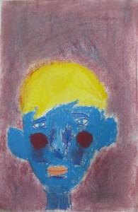 Peinture à la craie pastel