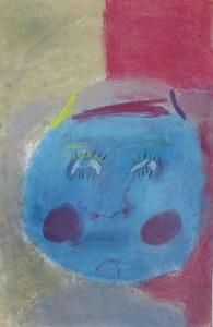 Autoportarit bleu