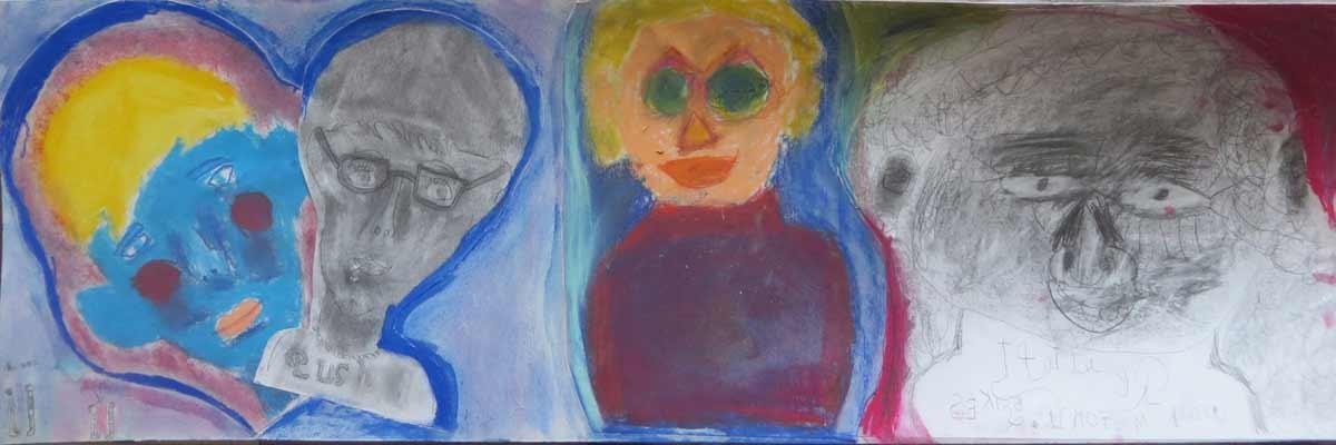 Autoportraits d'enfants