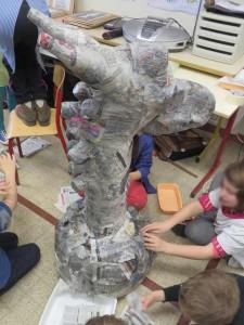 Les enfants consolident le socle