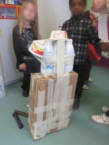 Atelier sculpture avec les enfants