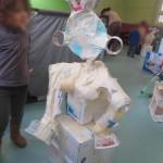 Sculpture à la maternelle