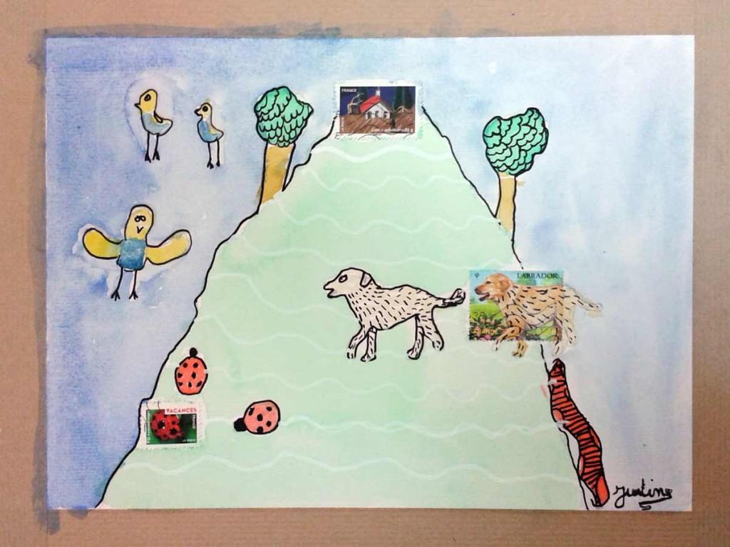 La montagne aux animaux