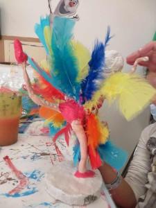 Tutu en plumes