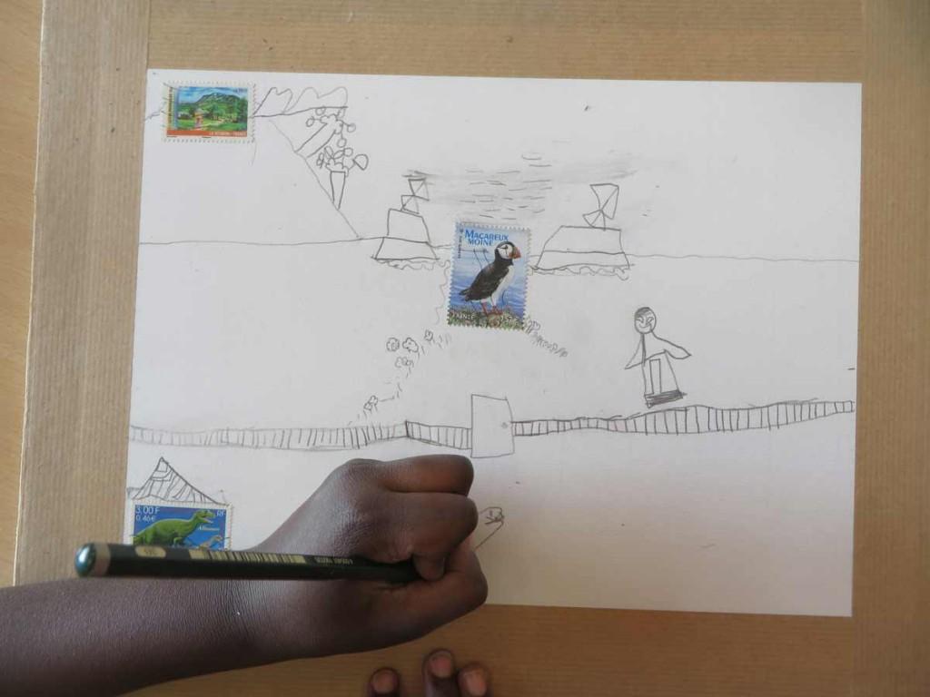 Créer à partir de timbres
