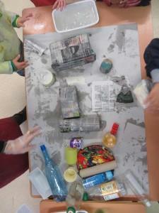 Choix des objets de récupération