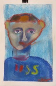Auto portrait d'enfant