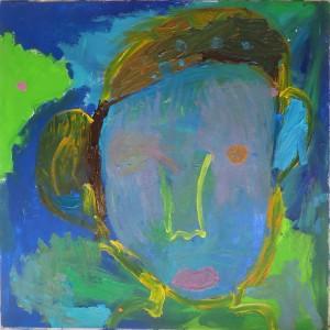 Fin de la première séance de peinture