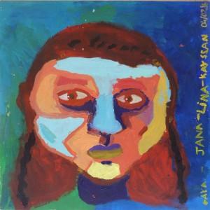 Portrait aux lumières bleues