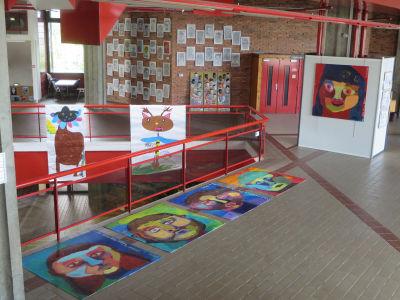 Exposition des grandes peintures
