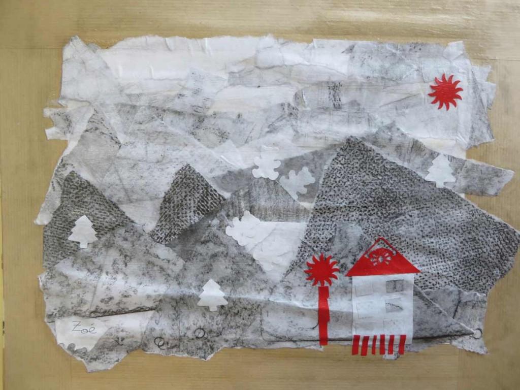 Le paysage imaginé par Zoé