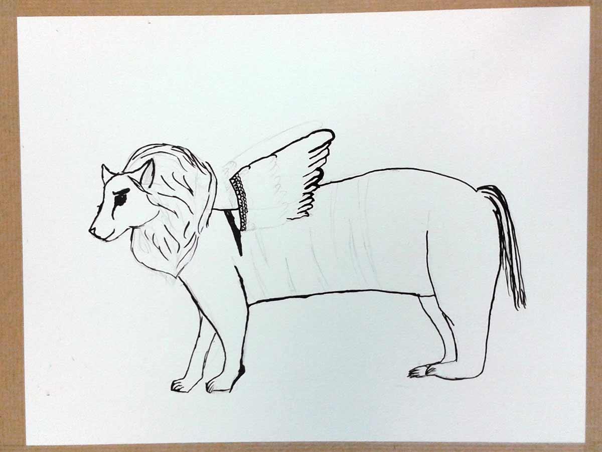 dessin au crayon papier dessin lencre de chine - Dessin D Animaux