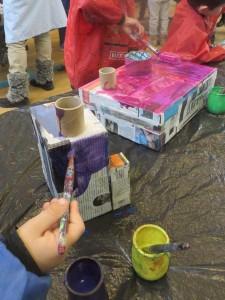 Peindre avec des encres acryliques