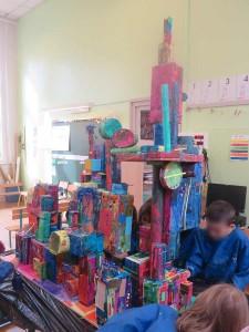 La ville à la maternelle
