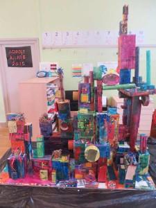 Maquette de ville imaginaire