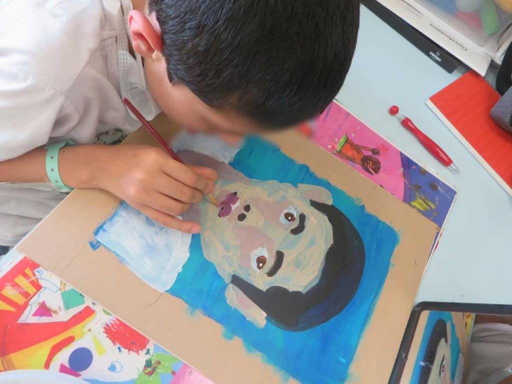 Tafseer réalise son autoportrait