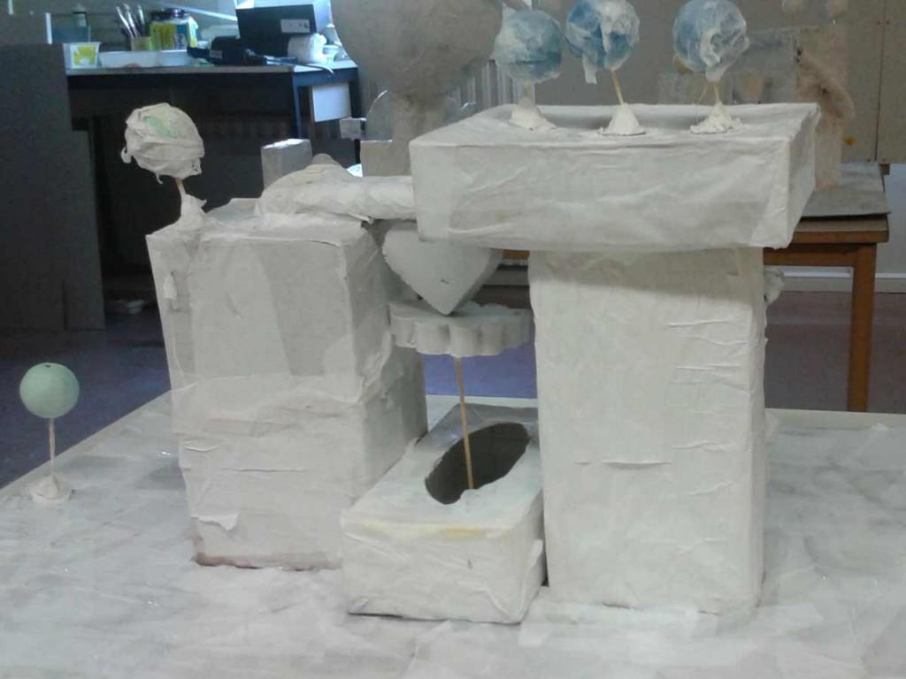Projet architectural en maquette