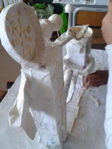 Le travail de Saïd et Ramla