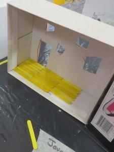 Plancher jaune