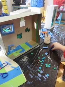 Fabrication d'une maison de poupée