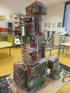 Construction réalisée par les enfants