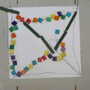 Graphisme avec des objets collés