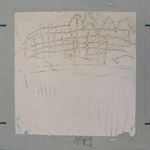 Plâtre gravé