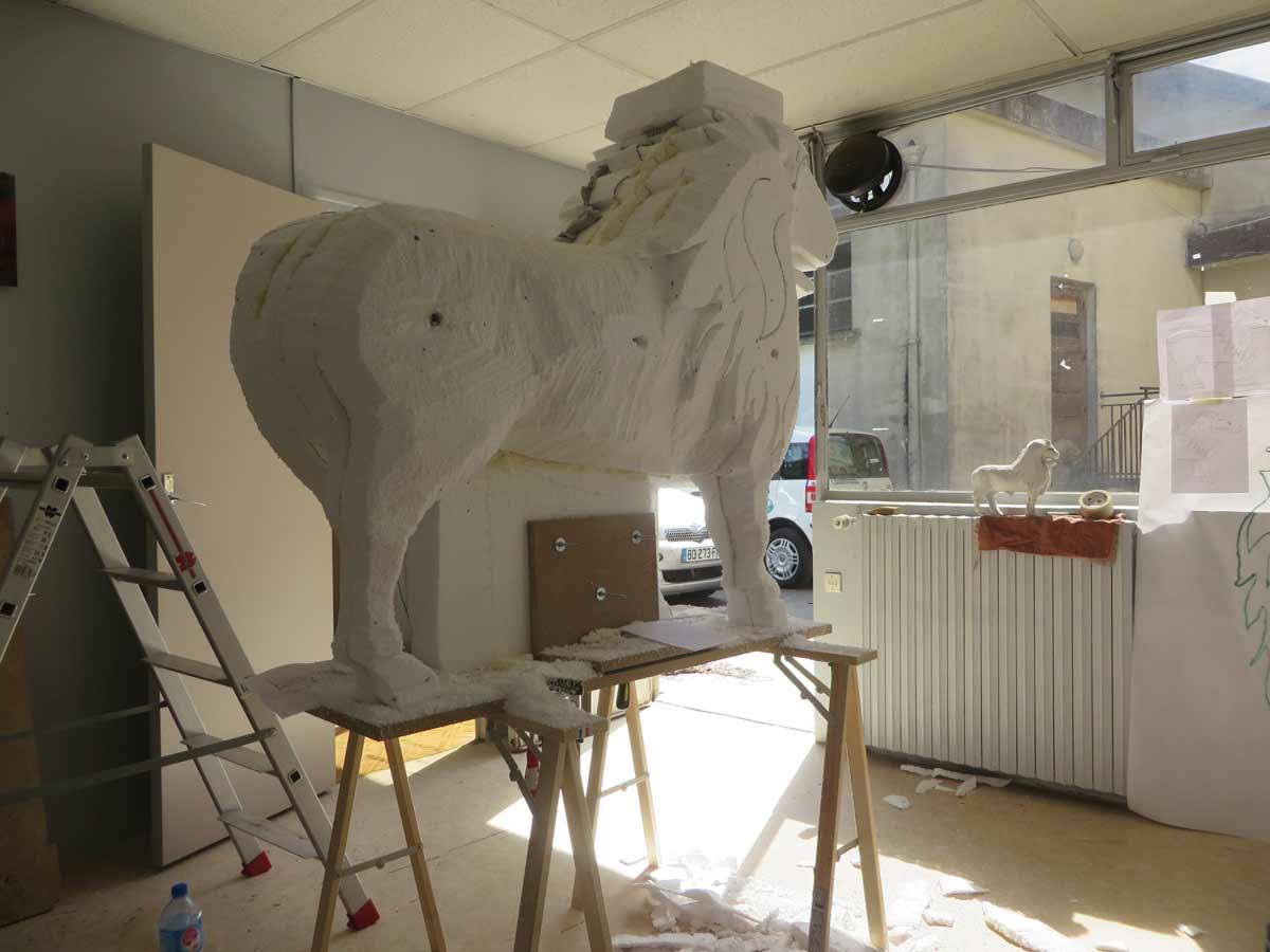 Atelier de sculpture