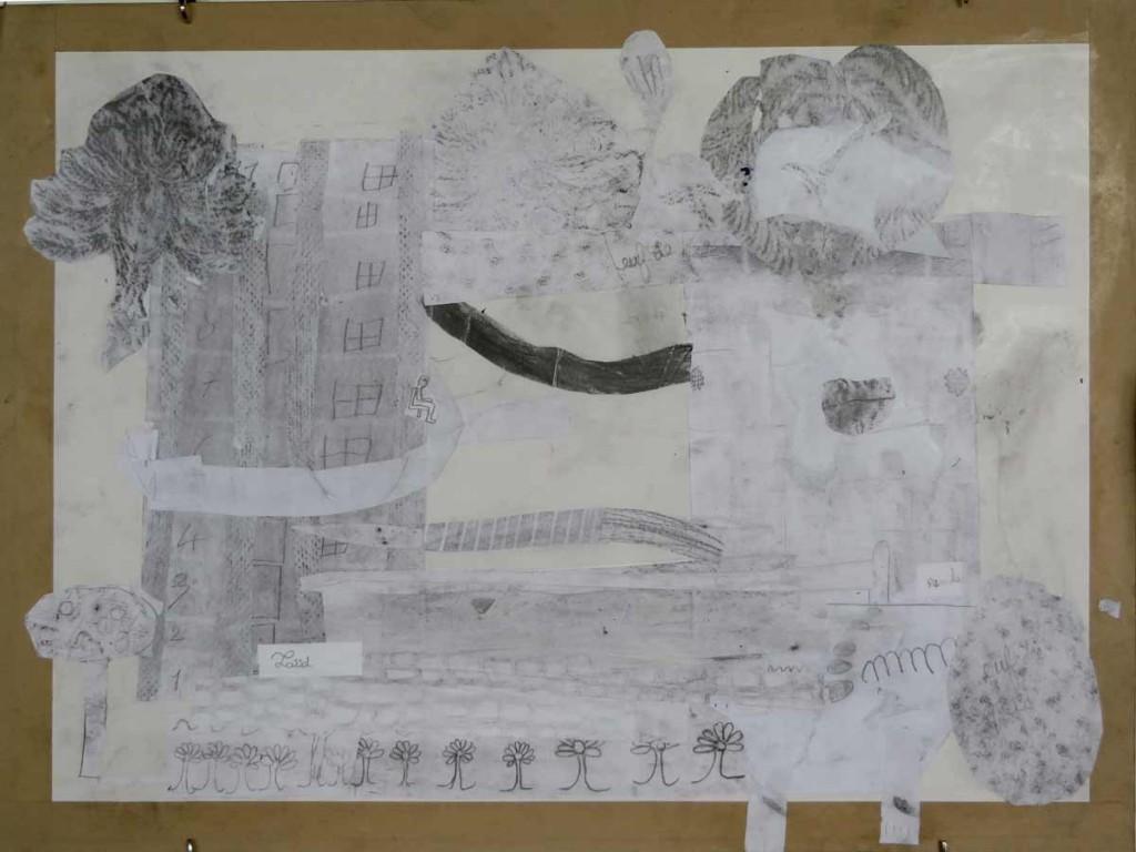 Le collage qui réuni les deux projets
