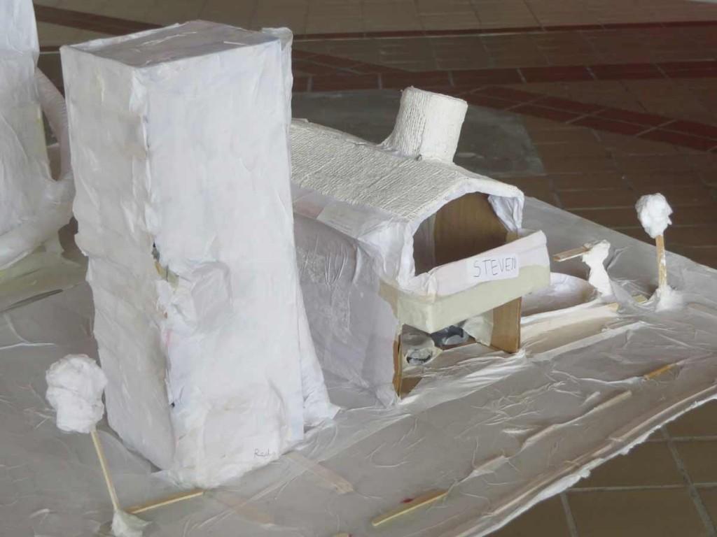 La tour et le pavillon