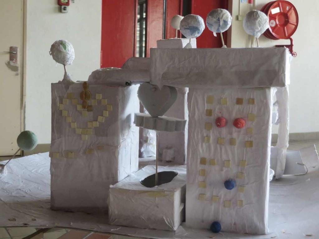 Le projet est exposé à l'espace Baudelaire à Rillieux
