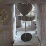 Un coeur relie les tours