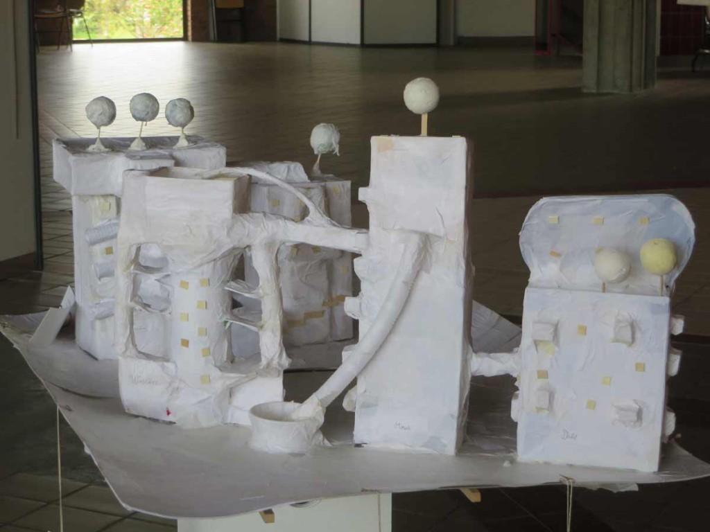 Le projet est exposé à l'Espace Baudelaire