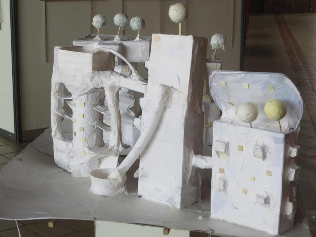 Projet architectural inventé par les enfants