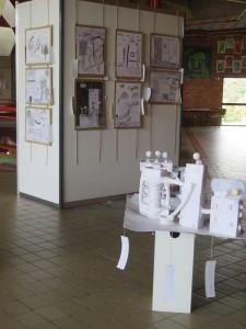 Exposition des dessins et des maquettes
