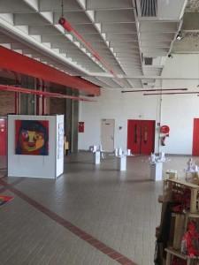 Le hall d'exposition