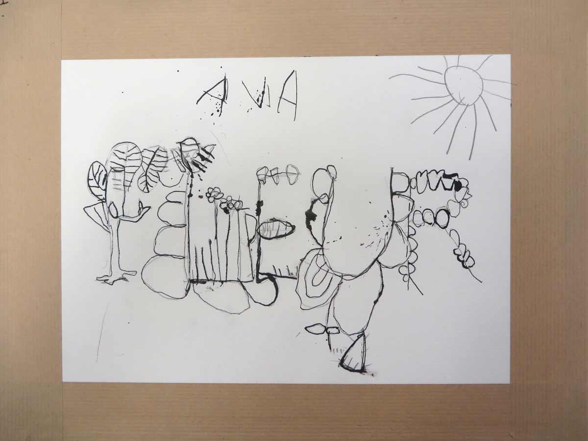 Le dessin d'Ava