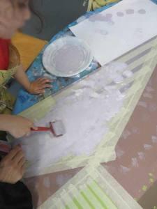 Appliquer la peinture au rouleau