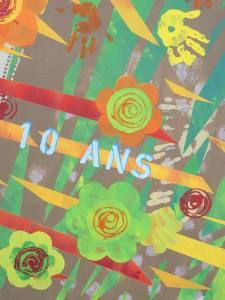 La fresque des 10 ans