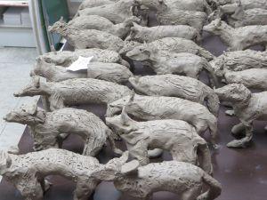 30 loups prêts pour la cuisson