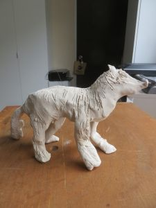 Modeler un petit loup