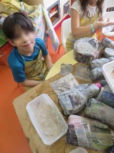 Un atelier destiné aux enfants