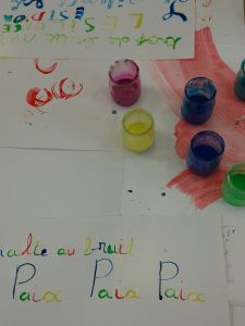 Lettres de couleur